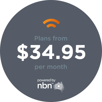 nbn plans from $34.95 per month
