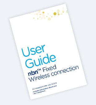NBN Wireless connection guide