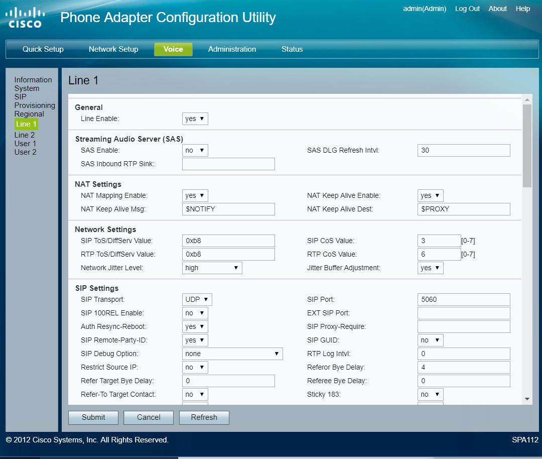 VoIP setup guide: SkyMesh supplied SPA 112 ATA